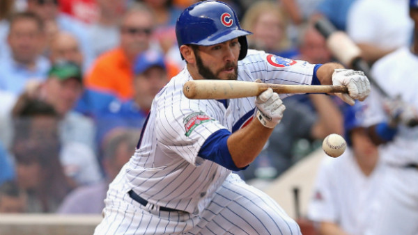 jake arrieta bunt top man for cubs national league mlb 2015
