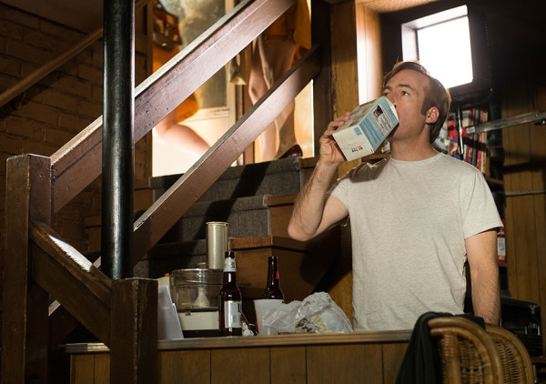 jimmy drinking milk out of container better call saul 110 2015 images