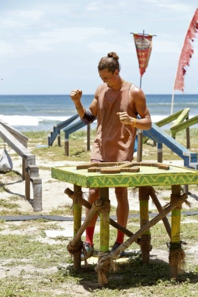 joe wins challenge on survivor worlds apart ep 8 2015