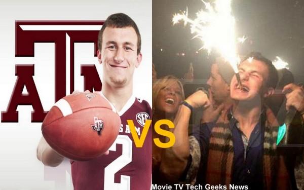 johnny football versus johnny manziel images 2015
