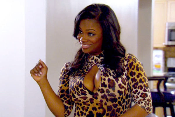 kandi in leopard tight print for todd date rhoa 201