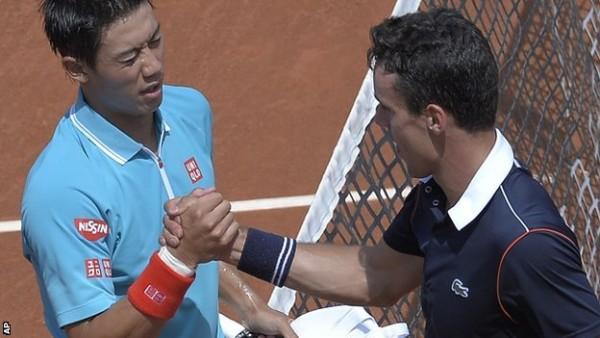 kei nishikori and david ferrer move on at barcelona open 2015