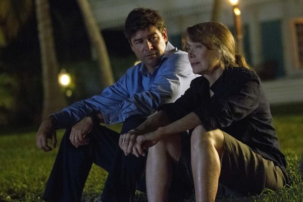 kyle chandler with sissy spacek on bloodline 2015
