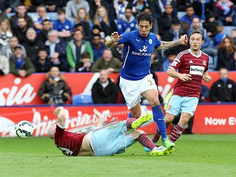 leicester city beats west ham united premier league 2015