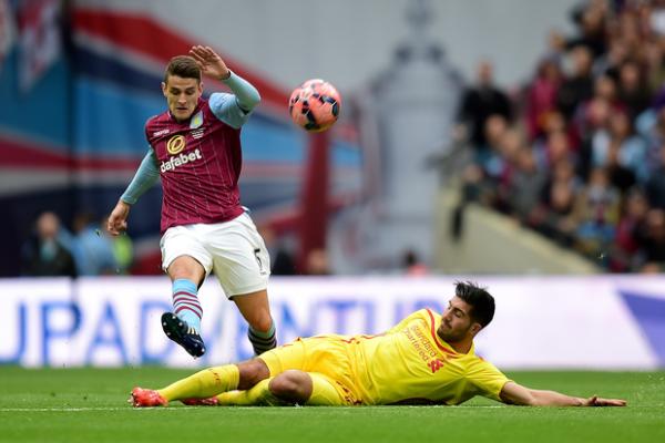 liverpool loses to villa fa cup soccer 2015