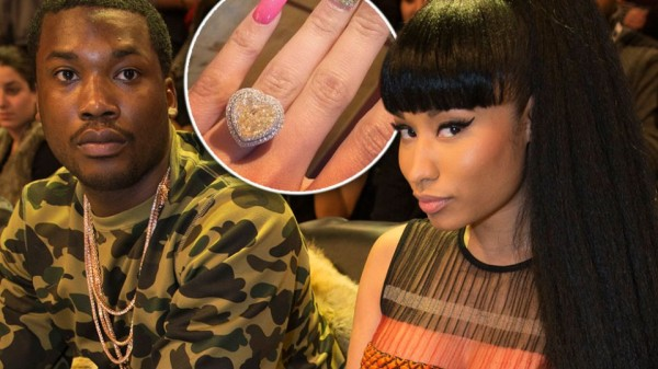 meek mill and nicki minaj engaged 2015