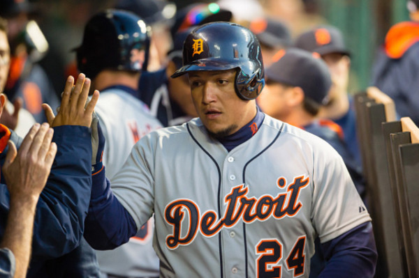 miguel cabrera top man american league tigers mlb 2015