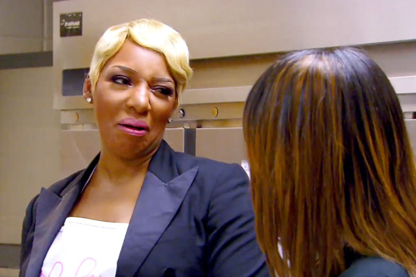 nene leakes not wanting claudia jordan around real housewives of atlanta 2015