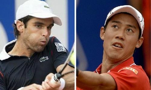 pablo andujar vs kei nishikori 2015 barcelona open