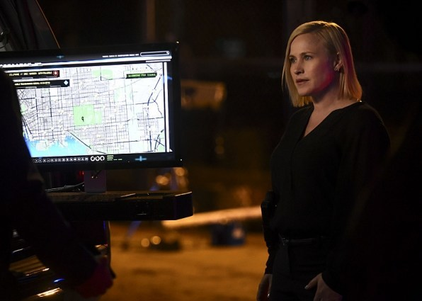 patricia arquette on csi cyber fire code 2015