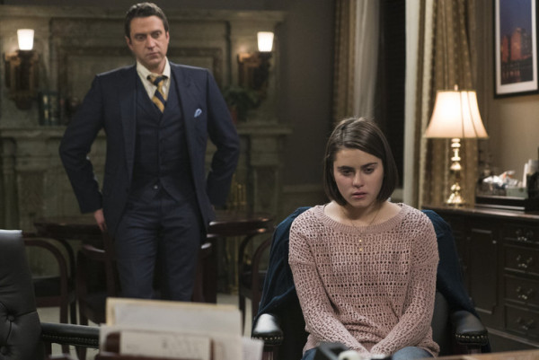 rafael barba with rape girl on law order svu devastating story 2015