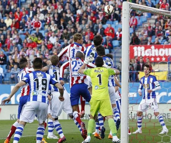real sociedad vs atletico madrid la liga 2015