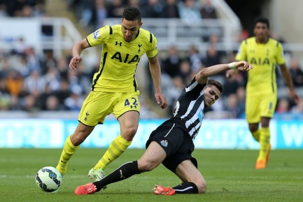 spurs beat newcastle premier league 2015