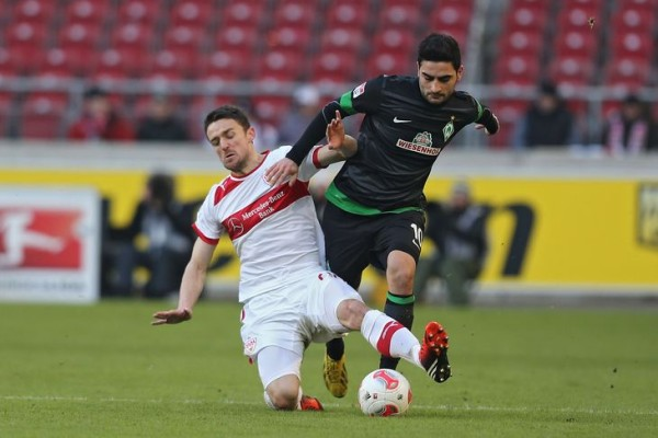 stuttgart beats out werder bremen for bundesliga 2015 soccer