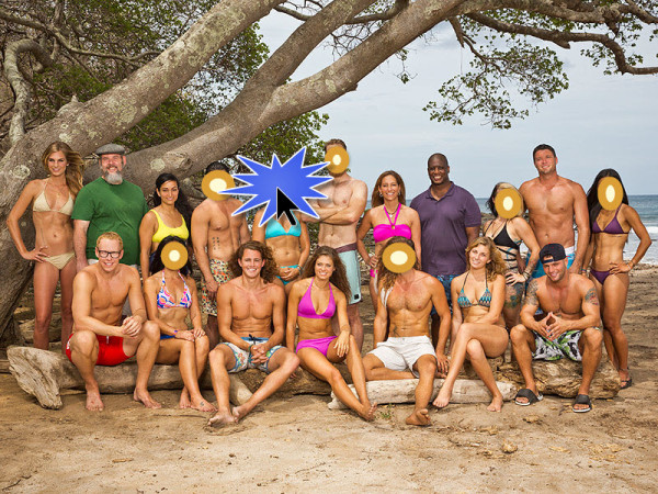 survivor cast images 2015 cathy voted off
