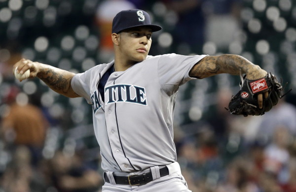 Taijuan Walker top pitcher for seattle mariners 2015 mlb