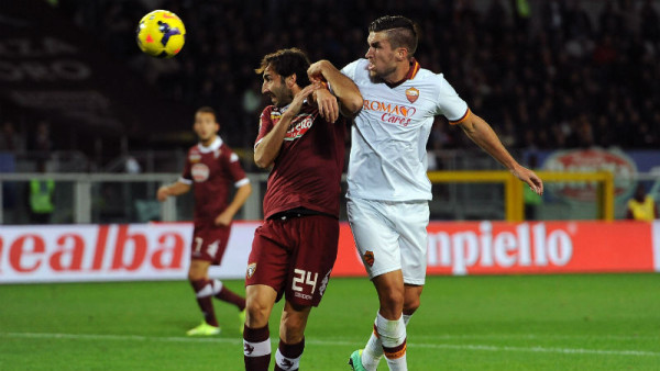torino draws with as roma serie a soccer 2015