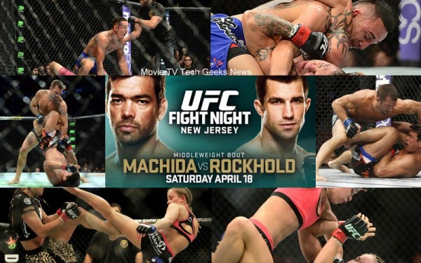 ufc fight night machida vs rockhold images 2015