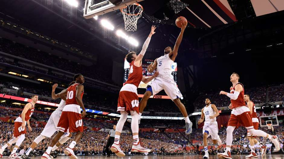College Basketball Can Anyone Beat The Kentucky Wildcats: Duke Blows Out Michigan State: 2015 NCAA Final Four