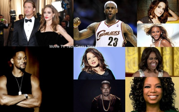 10 most inspirational celebrities 2015 images