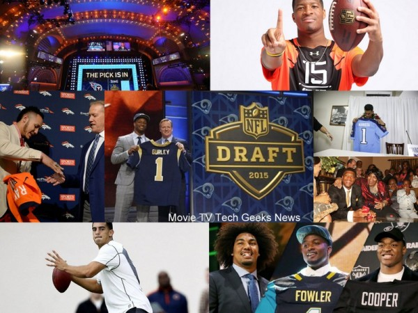 2015 nfl draft picks take away images
