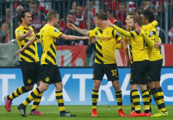 Borussia Dortmund bundesliga soccer losers 2015