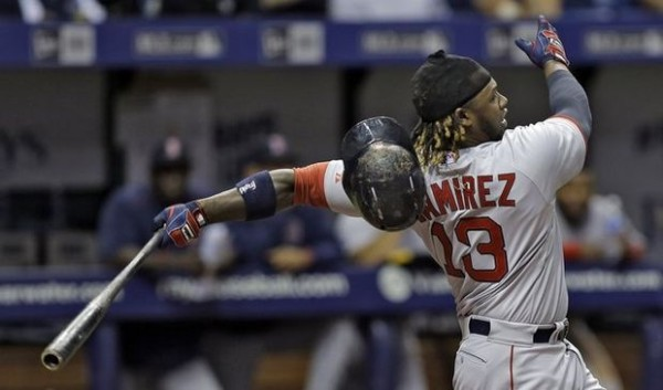 Hanley Ramirez top winner red sox american league mlb 2015