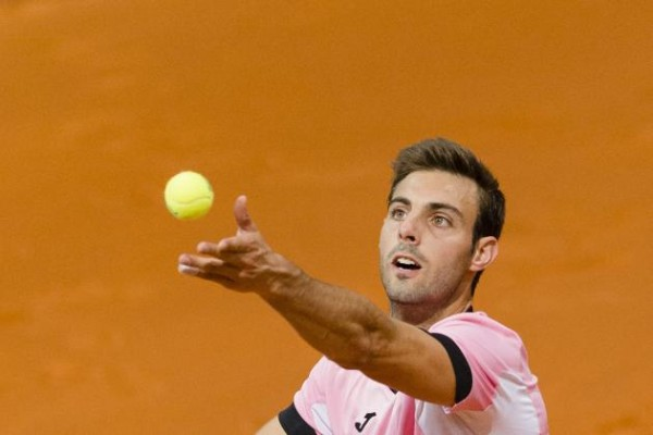 Marcel Granollers second round for roger federer 2015 french open