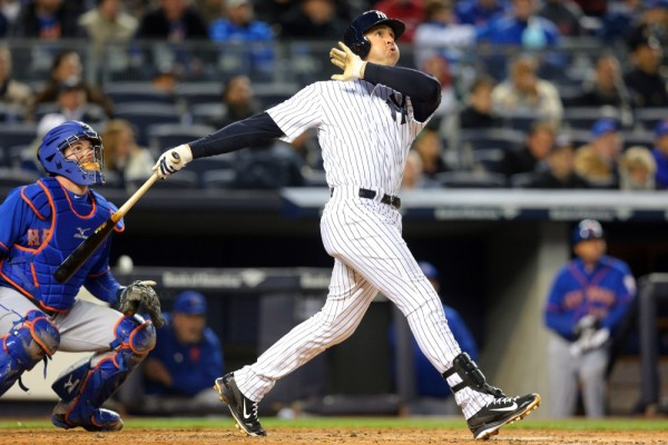 mark teixeira top winners yankees american league mlb 2015