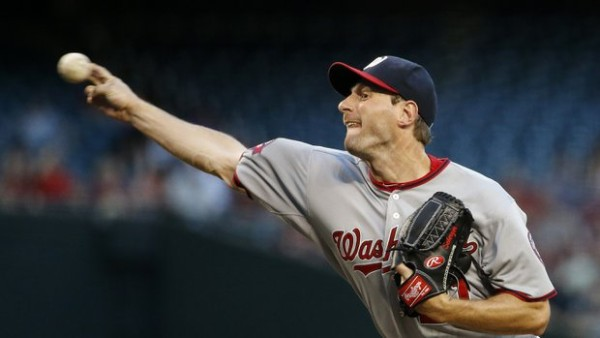 Max Scherzer big national league winner mlb nationals 2015 images