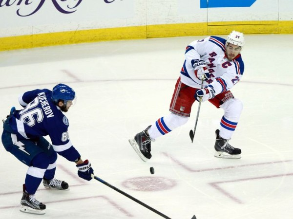 Nikita Kucherov scores for lightning 2015 stanley cup playoffs