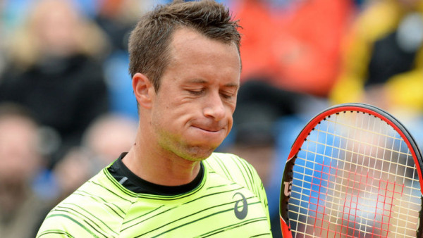 Philipp Kohlschreiber loses to andy murray at 2015 munich open