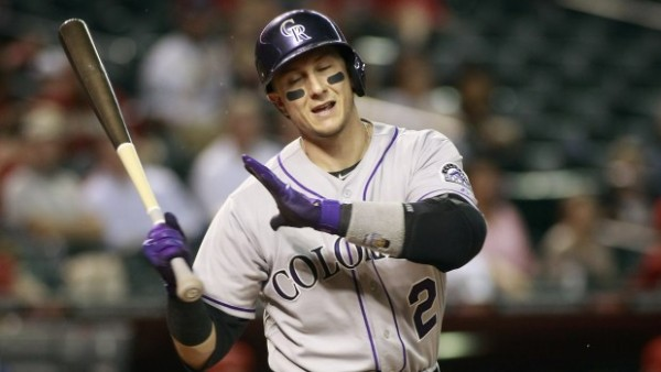 Troy Tulowitzki national league rockiers week 6 loser mlb 2015