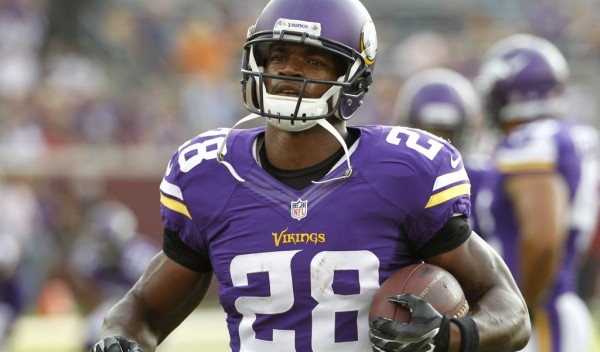 adrian peterson not wanting to play with vikings 2015