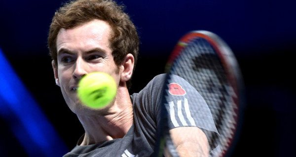 andy murray taking on kei nishikori 2015 madrid open