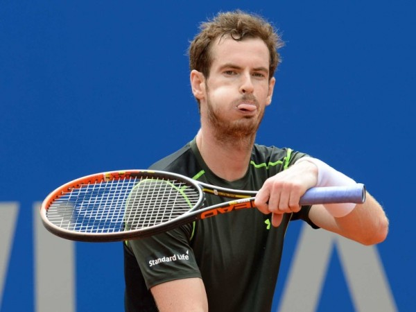 andy murray withdraws from Rome masters 2015