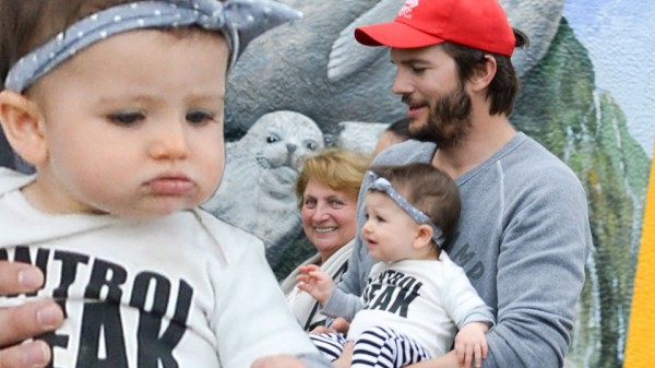 ashton kutcher angry for baby 2015 gossip
