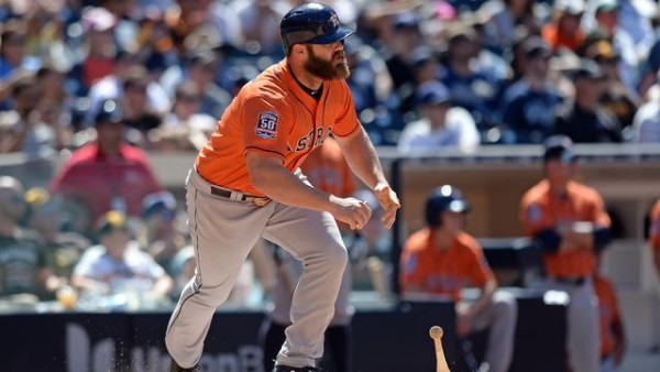 astros evan gattis hot top for american league mlb 2015