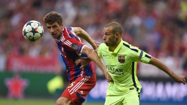barcelona beats bayern munich 2015 bundesliga