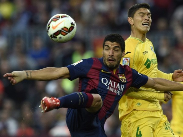 barcelona beats getafe la liga 2015