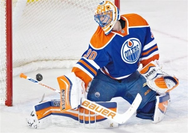 ben scrivens sucks goalee for edmonton oilers 2015 stanley cup playoffs