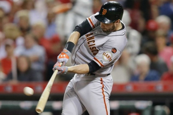 brandon belt week 6 national league winner mlb giants 2015
