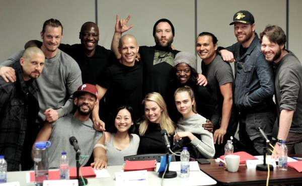 cast read for suicide squad movie