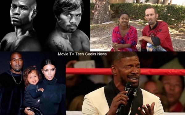 celebrity gossip kim kardashian kanye jamie foxx mayweather 2015 images