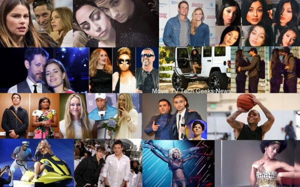 celebrity gossip kylie jenner mariah chris brown lady gaga 2015 images