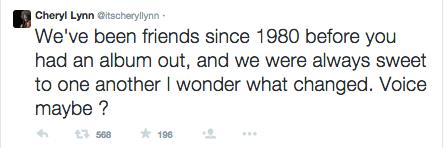 cheryl lynn mean tweets to anita baker 2015 gossip