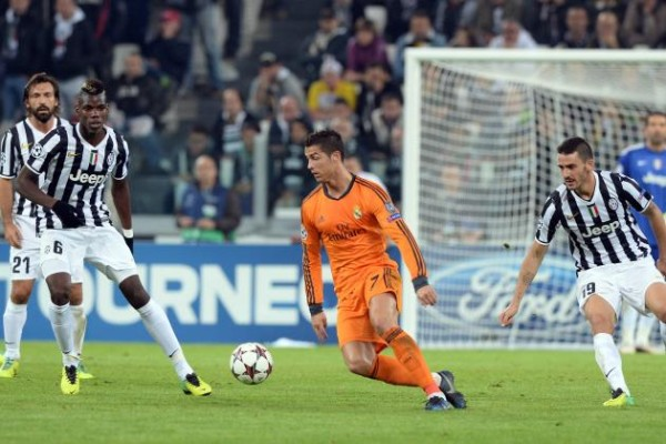 cristiano ronaldo real madrid vs juventus champions league 2015