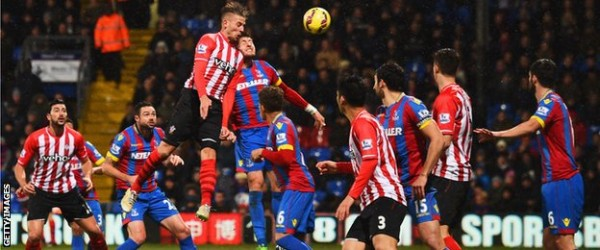 crystal palace vs southampton premier league 2015