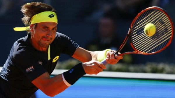 david ferrer hits quarter finals at 2015 madrid open