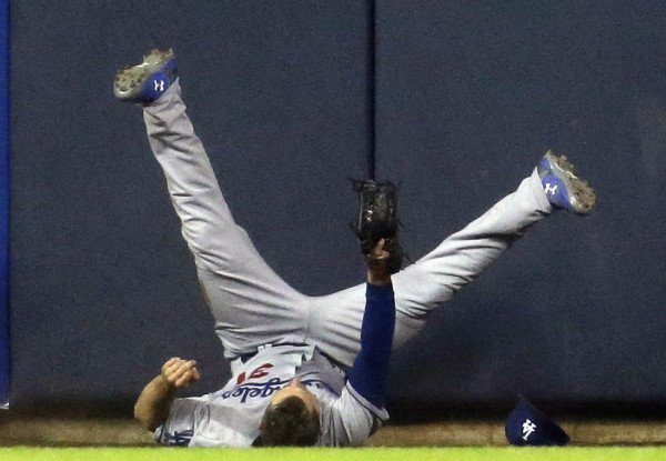 dodgers joc pederson hot bottom winner national league mlb 2015